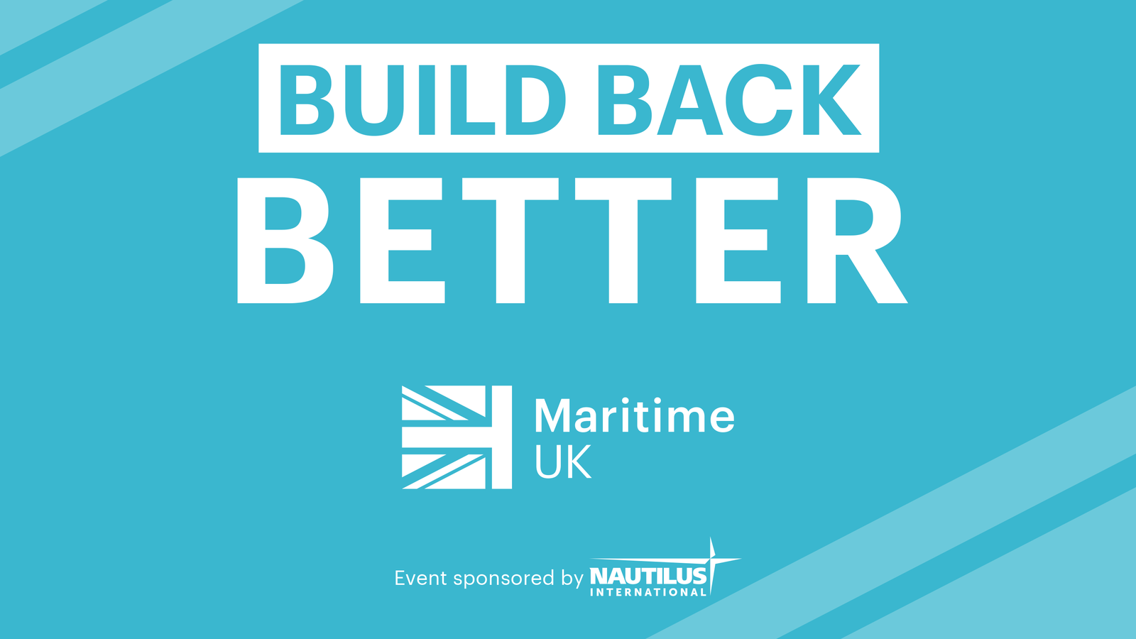 Build Back Better: What does it mean for maritime?
